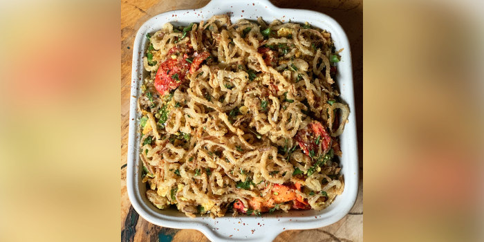 Lobster Green Bean Casserole