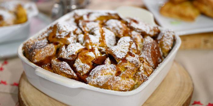 RYAN SCOTT: Breakfast Wellington Pockets + Pumpkin Spice French Toast Casserole