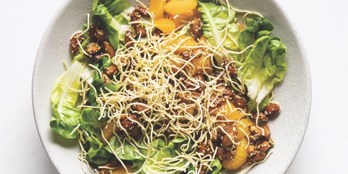 Joanna Gains' Asian Salad with Sweet Vinaigrette