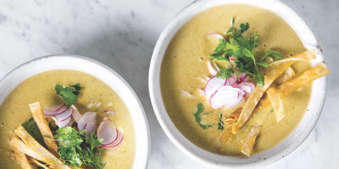 Joanna Gaines' Creamy Chicken Poblano Soup