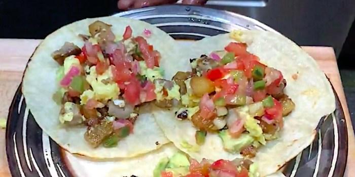 Austin-Style Breakfast Tacos
