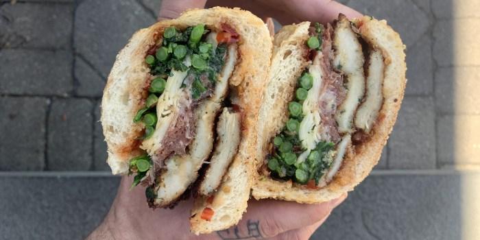 Christian Petroni's Italian Chicken Cutlet Sandwich