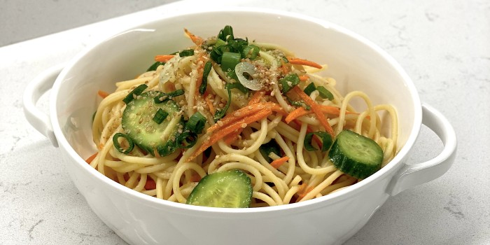 Miso and Sesame Noodles