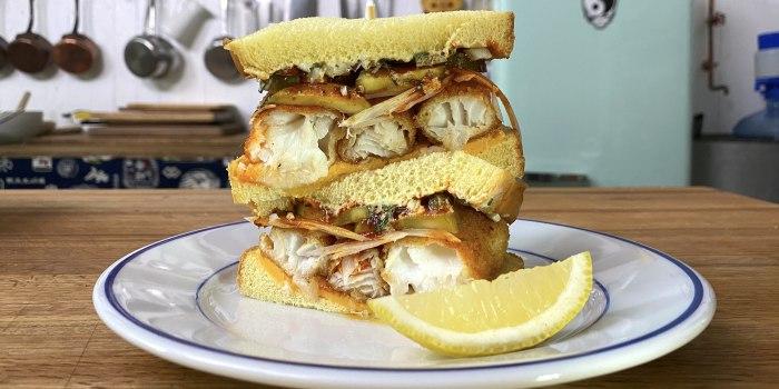 Hot Fish Sandwich