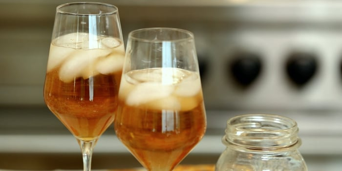 Sandra Lee's Pumpkin Spice Martini