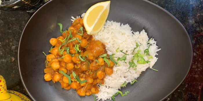 Garbanzo Curry (Channa Masala)