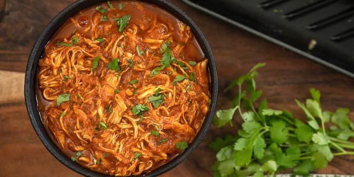 Slow-Cooker Chicken Tinga