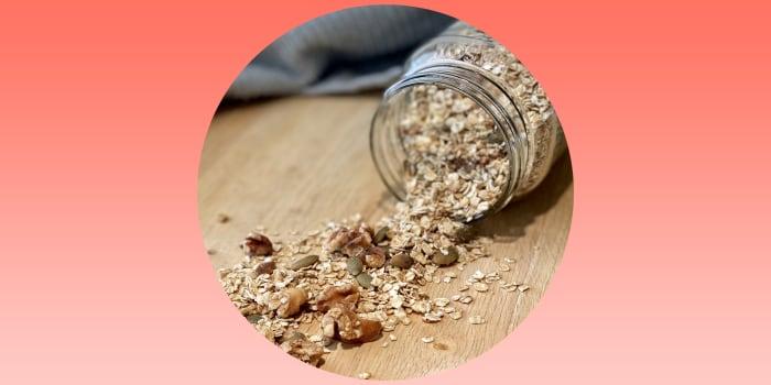 Photo of granola