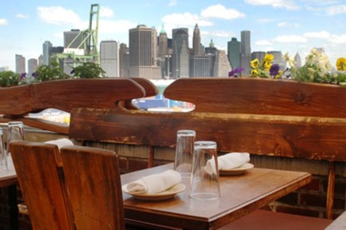 America 39 s best outdoor dining for Alma terrace york