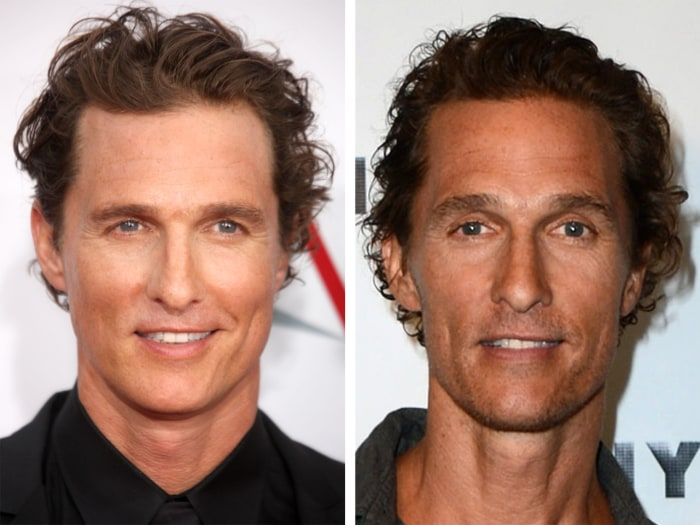 Gaunt Matthew McConaughey losing 30 pounds for movie role ...