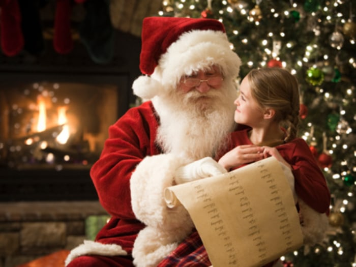 Parents disagree on what to tell children about good old St. Nick.