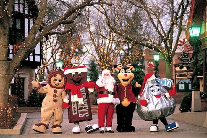 Celebrate Winter Holidays At America S Amusement Parks