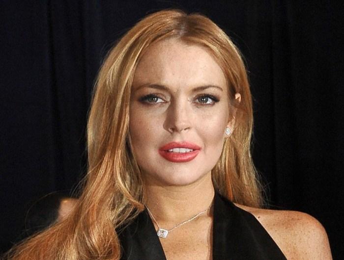 Lindsay Lohan 'fine' a...