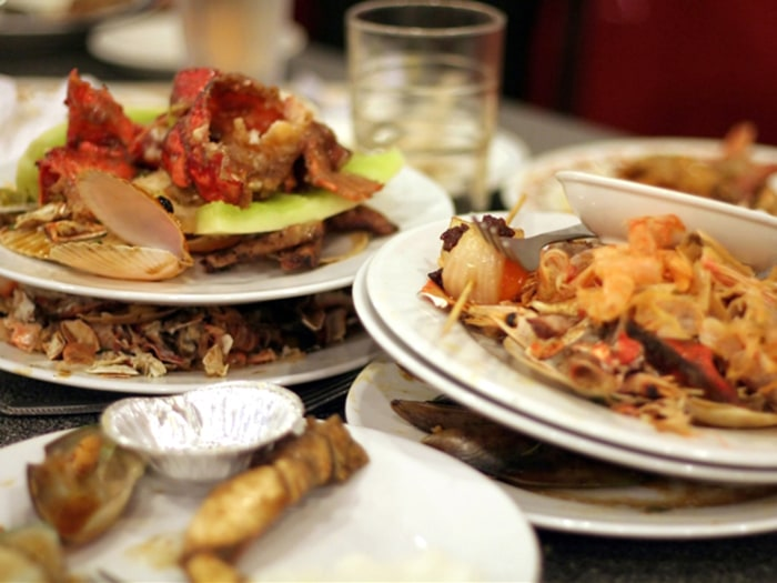 Leaving food uneaten may cost you at some restaurants ...