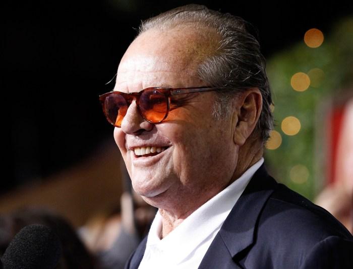 Jack Nicholson on maki...