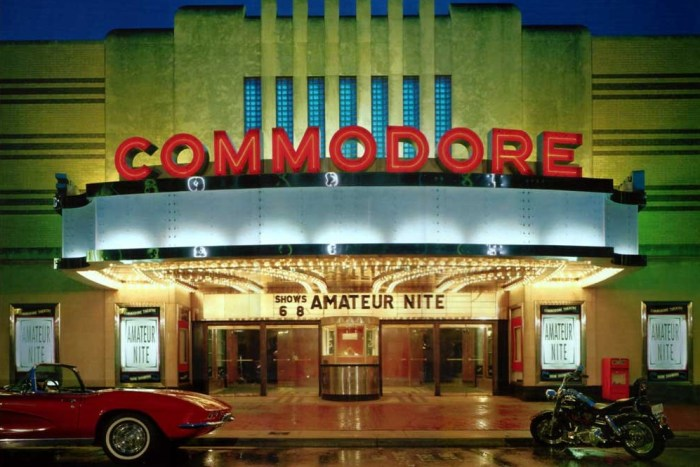 Image: The Commodore Theater