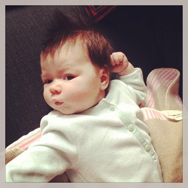 Harper Lillian Andrews, born Feb. 4, New York City