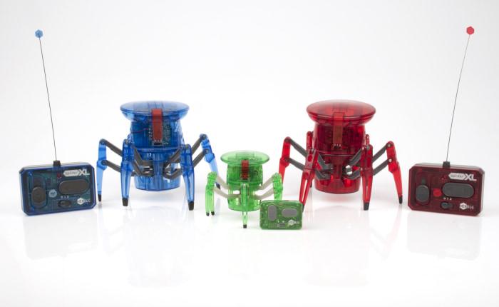 Image: HEXBUG Spider XL bots