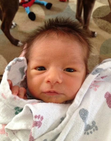 Logan Robert Gardner, born March 17, Cudahy, Wisc.