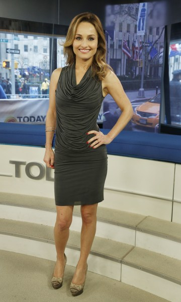 Giada De Laurentiis Thursday, April 11, 2013, in New York, N.Y. (Rebecca Davis / TODAY)