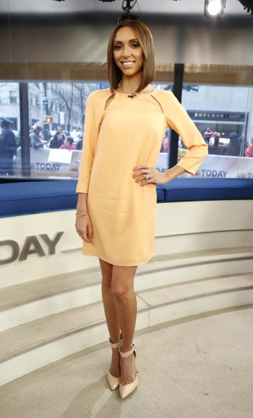 "TODAY -- Pictured: Giuliana Rancic appears on NBC News' ""Today"" show -- (Photo by: Peter Kramer/NBC/NBC NewsWire)"