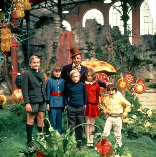 cast of original willy wonka film to appear on today