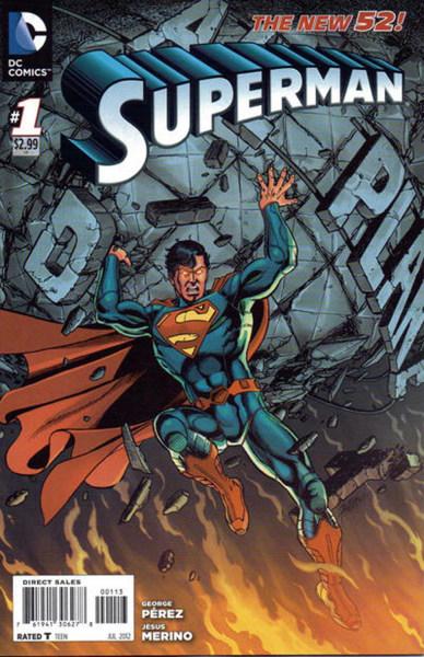 New 52 Superman No. 1