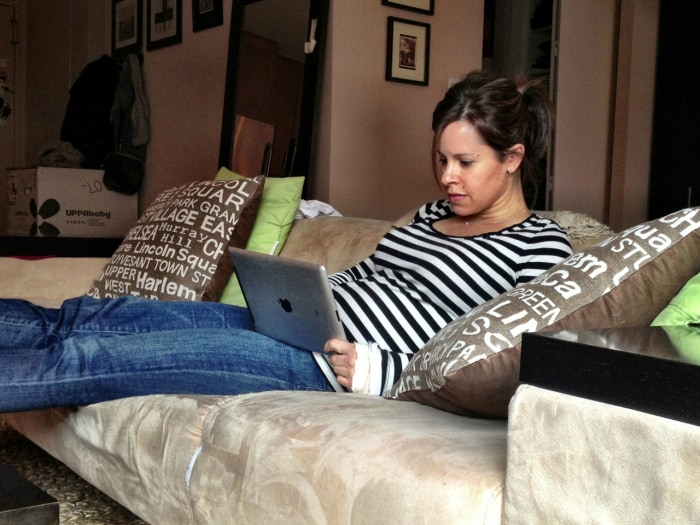 Jenna Wolfe blogs about her pregnancy.