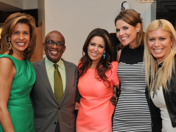 Hoda Kotb, Al Roker, Savannah Guthrie and Jill Martin came out to support Bobbie.