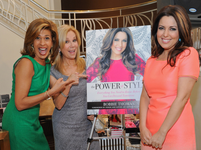 Kathie Lee and Hoda with Bobbie.