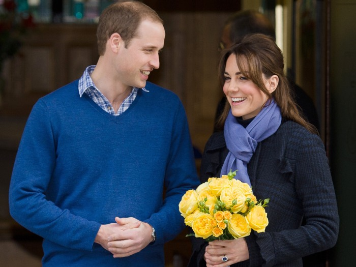 Prince WiIliam, the Duke of Cambridge, arrives at the King Edward VII hospital in central London, on December 6, 2012 where Catherine, the Duchess of ...