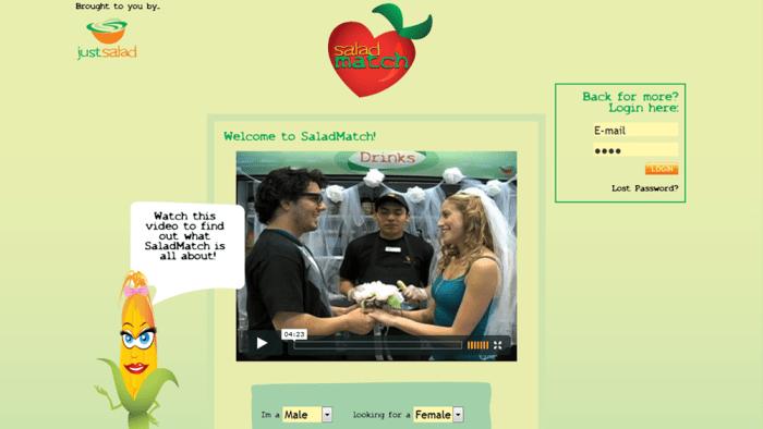 Single salad dating login