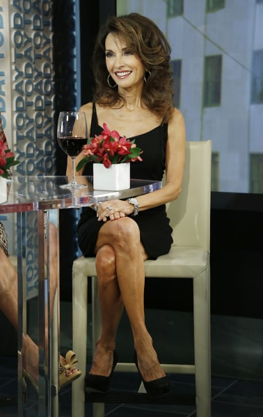 Susan Lucci Tuesday, Aug. 6, 2013, in New York, NY (Rebecca Davis / TODAY)