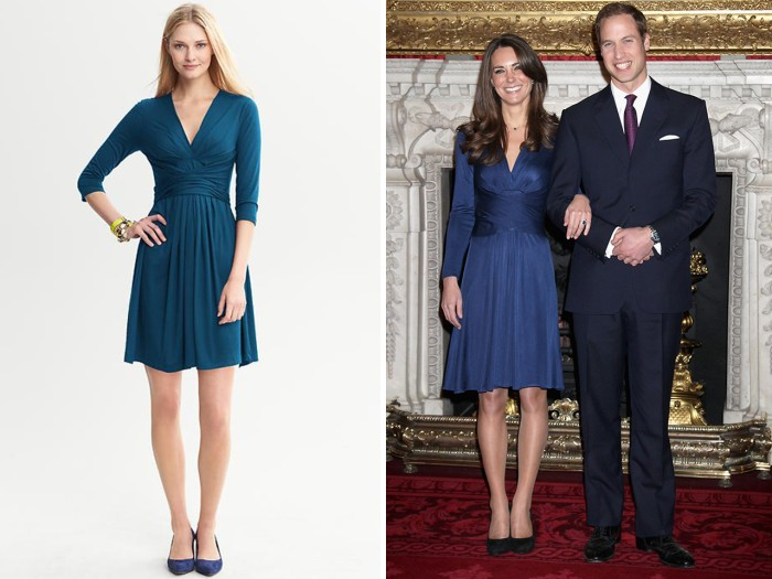 Designer recreates Kate's blue engagement dress – for $130 - TODAY.com