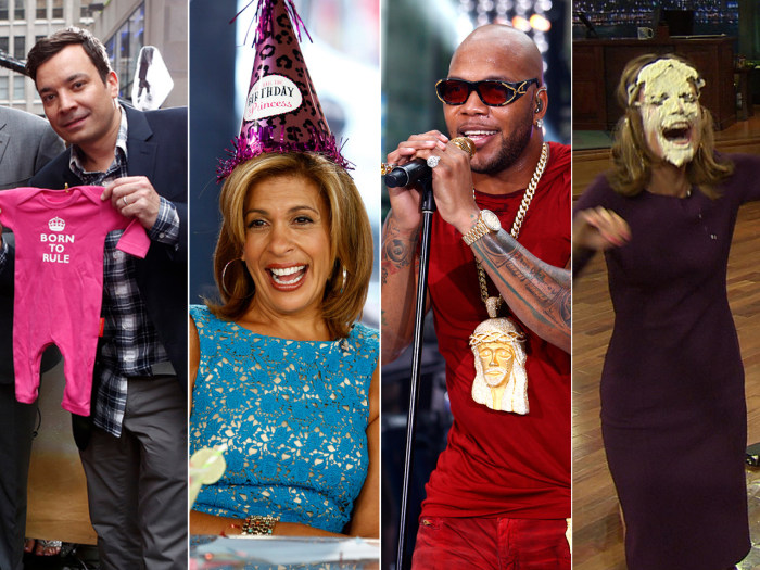 From Fallon to Flo Rida, Friday was full of big moments for TODAY.