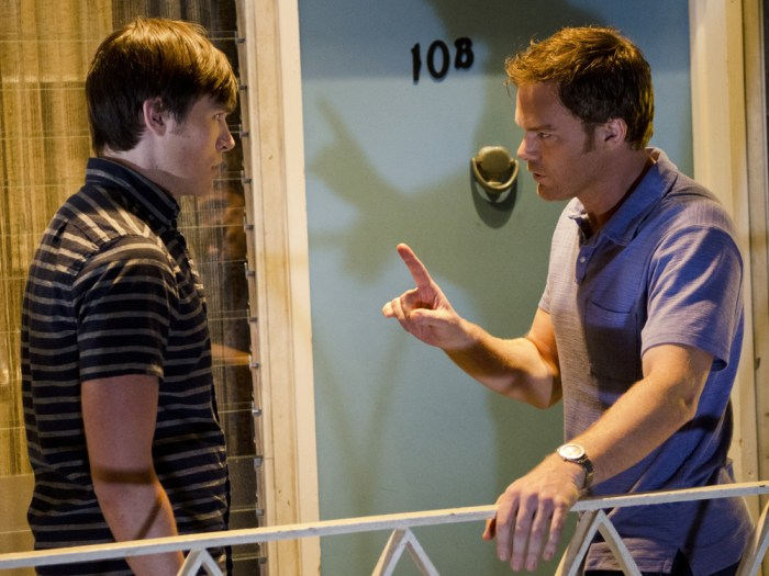 Image: Zach and Dexter
