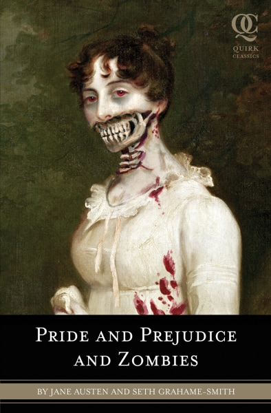 "Cover of ""Pride and Prejudice and Zombies"""