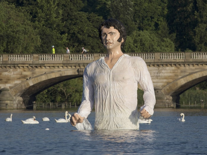 Statue of Mr. Darcy