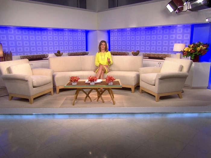 A lot of great moments between the TODAY family and guests took place on the sofa area of Studio 1A.