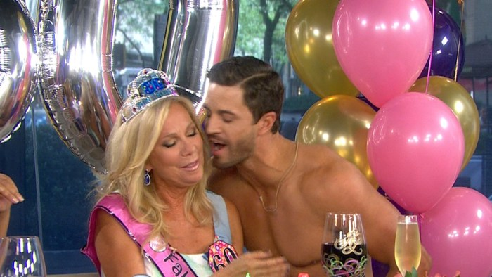 Kathie Lee got a visit from the 'Zesty Guy' on Friday.