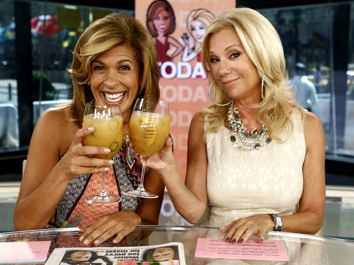 Kathie lee and hoda why we drink on the air - Nbc today show kathie lee and hoda ...
