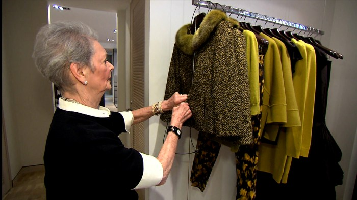 Betty Halbreich, 85, is a personal shopper at Bergdorf Goodman's who has shopped for celebrities like Meryl Streep and Cher.