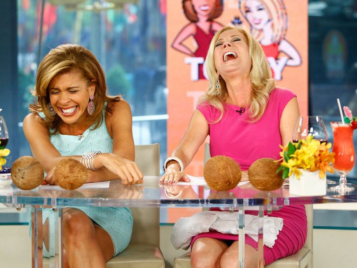 Kathie Lee and Hoda talk about their ideal days off.