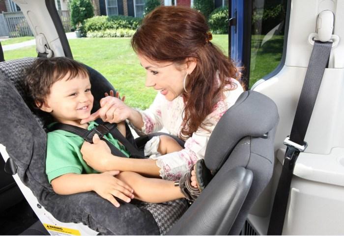 car seat install