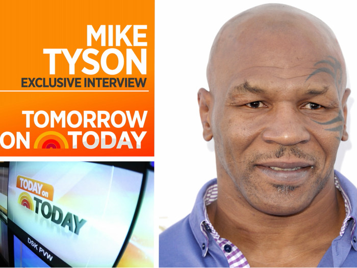 Mike Tyson on TODAY