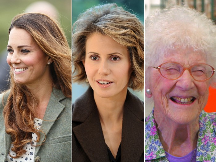 Kate's out and about, Syria's first lady's on Instagram and Edythe Kirchmaier is 105... and on Facebook.