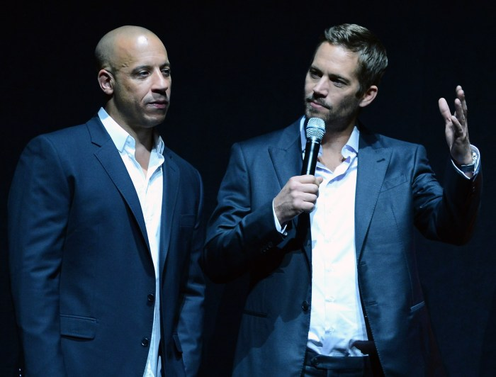 IMAGE: Vin Diesel and Paul Walker