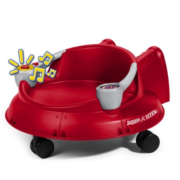Get the Radio Flyer Spin 'N Saucer with Lights and Sounds for 70% off.