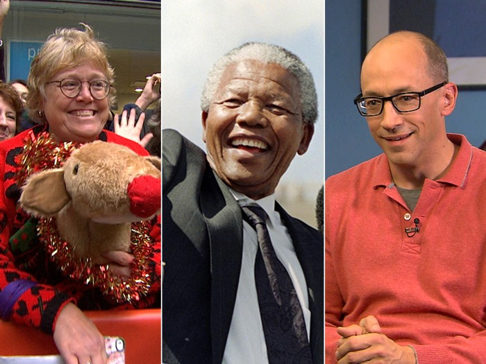 Al spots the best Christmas sweater ever, TODAY remembers Nelson Mandela and Dick Costolo talks Twitter.