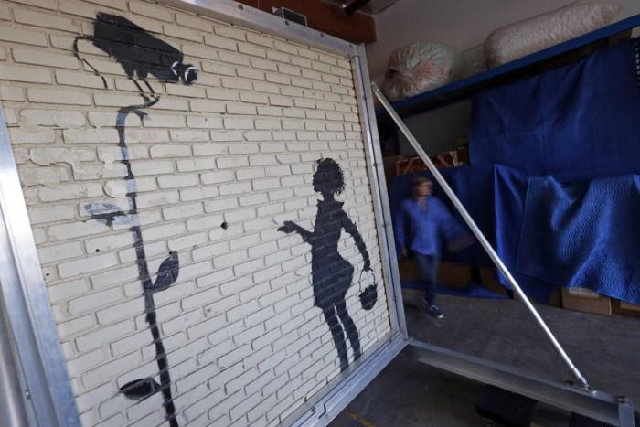 IMAGE: Banksy mural
